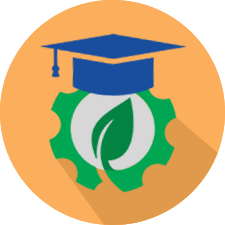 clean tech education icon