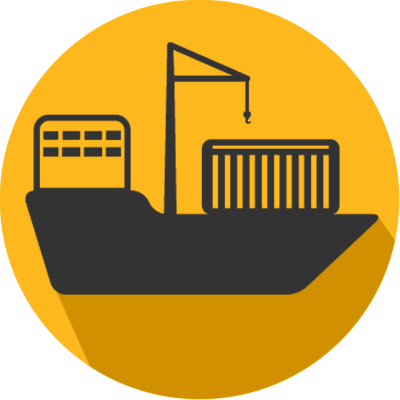 sea port ship icon