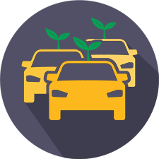 green cars icon